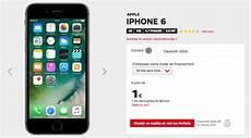 prix d un iphone se iphone 6 1 seulement avec un forfait sfr jusqu au 20