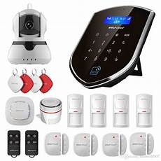 Wolf Guard 007at Wireless Home Outdoor by Wolf Guard Wireless Home Alarm Security Burgle System 2g