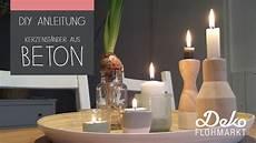 Diy Anleitung Kerzenst 228 Nder Aus Beton Basteln