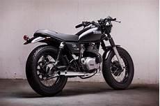 yamaha sr 250 yamaha sr250 restomod by jadus bikebound