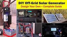 high capacity off grid solar generator rev 4 wiring diagram parts list design worksheet