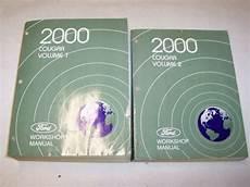 auto manual repair 2000 mercury cougar electronic valve timing 2000 mercury cougar shop service repair manual i4 hatchback 2 0l 2 5l v6 ebay