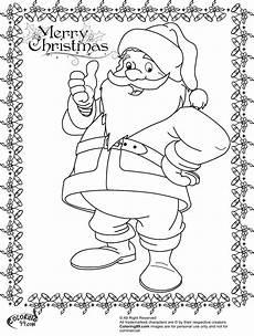 santa claus coloring pages team colors