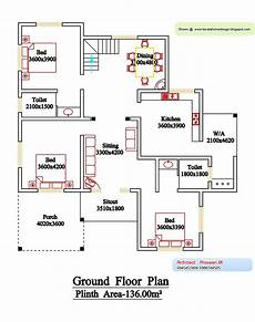 kerala model house plan and elevation kerala style floor plan and elevation 6 home appliance