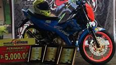 Satria Fu Modif Touring by Modifikasi Satria Fu Safety Dengan Konsep Road Race