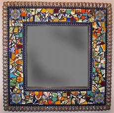 Bathroom Mirrors Mosaic by 25 Best Ideas About Tile Mirror Frames On