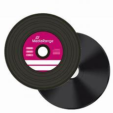 10 mediarange black bottom vinyl look cd r blank cd r