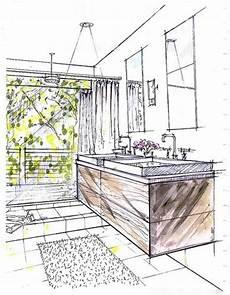 Bathroom Ideas Drawing by Bathroom Concept Rendering Via Hrrrthrrr In 2019