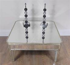 table basse miroir d 233 co miroir table basse