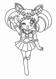 Anime Malvorlagen Free Mini Sailor Moon Anime Coloring Pages For Printable