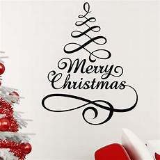 merry christmas tree wall sticker wallstickers co uk