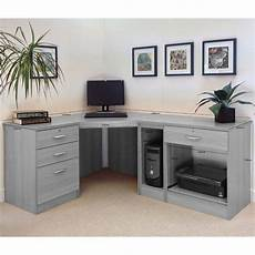 white home office furniture uk walshaw l shape computer desk home office furniture