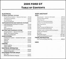 service manuals schematics 2005 ford gt electronic valve timing 2005 ford gt repair shop manual original