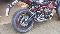 yamaha mt 07 sc project yamaha mt 07 motocage with sc project exhaust