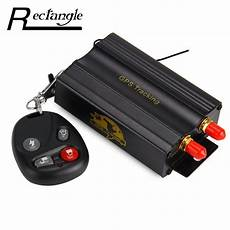 car gps tracker tk103b real time monitoring gps sms gprs