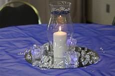 blue and black reception table royal blue and silver wedding ideas silver wedding decorations