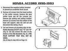 1991 honda accordinstallation instructions