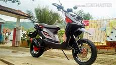 X Ride 2018 Modif by Kumpulan Modifikasi Yamaha X Ride Warna Gold Orange