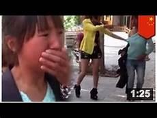 vidéo de filles bagarre en pleine rue entre la femme le mari et la