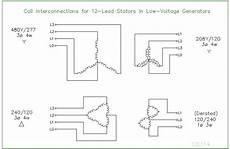 12 lead stator generators schematics ecn electrical