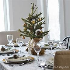 einfache weihnachtsdeko selber machen a simple gold table the diy
