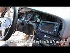 buy car manuals 1995 acura tl navigation system how to change replace install radio navigation screen 1999 2000 2001 2002 2003 acura tl