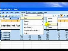 how to use microsoft excel creating rows columns borders part 1 youtube