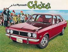 Plymouth Cricket Car by Cars Canada 1971 1973 Plymouth Cricket