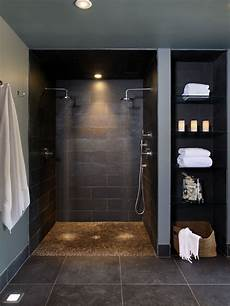 Edle Kieselstein Dusche Boden Sortiert Installation Ideen