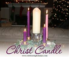 advent or day candles and reading