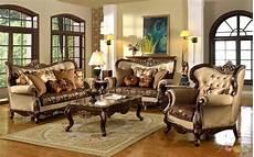 Wohnzimmer Vintage Look - antique style traditional formal living room furniture set