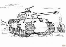Malvorlagen Tiger Motor Kleurplaat Tank Leger