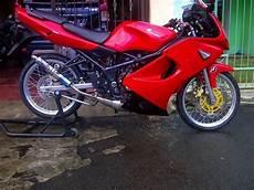 Modifikasi Kawasaki Rr by Modifikasi Motor Kawasaki Rr Velg 17 Modifikasi Motor