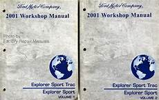 free download parts manuals 2001 ford explorer sport security system 2001 ford explorer sport trac and sport factory service manual set shop repair factory