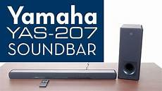 yamaha soundbar yas 207 overview