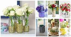 Decorating Ideas Clear Glass Vases by How To Decorate Your Plain Glass Vase And Make It Look