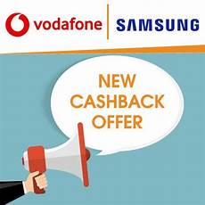 varindia vodafone along with samsung announces new cashback offer