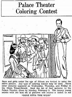 newspaper coloring pages printable 17707 color from with the wind 1941 with the wind coloring contest color