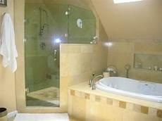 Badewanne Inklusive Dusche - shower tub mediterranean bathroom new york