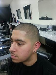 bald fade with a number 1 top and a razor edge up yelp