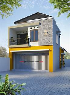 7 Gambar Desain Rumah Minimalis Modern 2 Lantai Ukuran