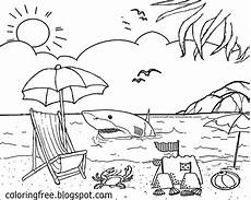 Malvorlagen Urlaub Meer Free Coloring Pages Printable Pictures To Color