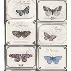 Rasch Bathroom Wallpaper by Rasch Postcard Butterflies Kitchen And Bathroom Wallpaper