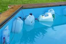 piscine hors sol gelee