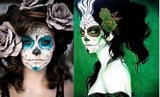 Dia De Los Muertos Makeup Sugar Skull Paint Design