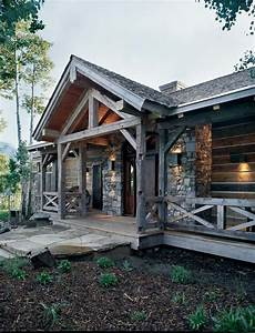 rustic house exterior color schemes the classic rustic exterior facade of this rocky mountain