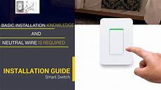 how to install smart wall light switch youtube