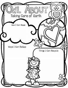 taking care of the earth worksheets 14434 earth day owl about taking care of the earth earth day earth day activities education