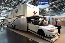 Mobile Garage Rv by Vario Mobil Rv With Built In Garage Editorial Photo