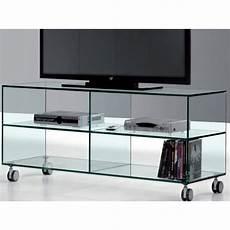 tv tisch glas glas tv tisch mit r 228 dern kolet 125 cm